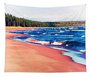 Autumn On Lake Superior Tapestry
