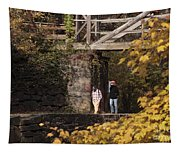 Autumn On The C And O Canal Tapestry