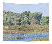 Autumn On The Marsh Tapestry