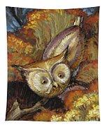 Autumn Owl Tapestry