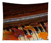 Autumn Piano 1 Tapestry