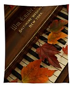 Autumn Piano 11 Tapestry