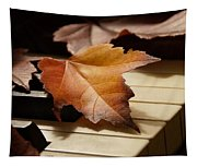 Autumn Piano 13 Tapestry