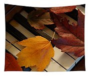 Autumn Piano 2 Tapestry