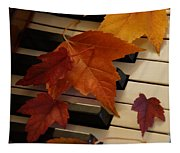 Autumn Piano 6 Tapestry