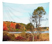 Mendon Ponds In Autumn Tapestry
