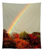 Autumn Rainbow Tapestry