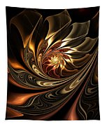 Autumn Reverie Abstract Tapestry