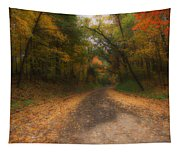 Autumn Road Tapestry