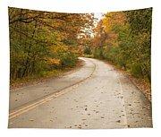 Autumn Road II Tapestry