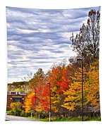 Autumn Sky Tapestry