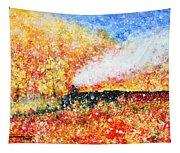 Autumn Snow Tapestry