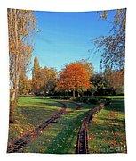 Autumn Tracks Tapestry