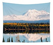Autumn View Of Mt. Drum - Alaska Tapestry