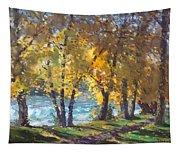 Autumn Walk Tapestry
