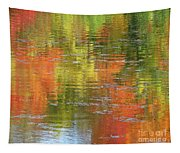 Autumn Water Colors Tapestry