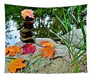 Autumn Zen Tapestry