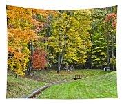Autumns Playground Tapestry