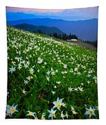 Avalanche Lily Field Tapestry