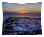 Avalon New Jersey Sunrise Tapestry