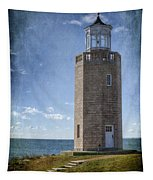 Avery Point Lighthouse Tapestry