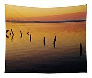 Awaiting The Sun's Return Tapestry