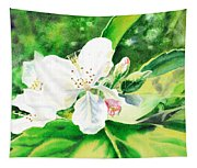 Awesome Apple Blossoms Tapestry