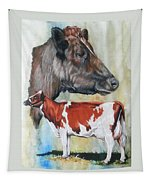 Ayrshire Cattle Tapestry