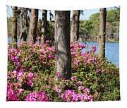 Azalea At The Lake Tapestry