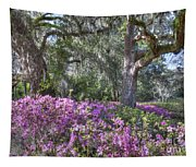 Azalea In Bloom Tapestry