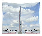 B-17 Tail Fin Tapestry