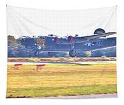 B-24 Landing Tapestry