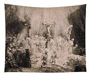 The Three Crosses, Circa 1660 Tapestry