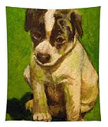 Baby Jack Russel Tapestry