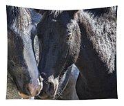 Bachelor Stallions - Pryor Mustangs Tapestry