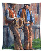 Back At The Ranch Tapestry