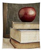 Back To School Apple For Teacher Tapestry