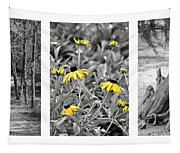 Backwoods Escape Triptych Tapestry