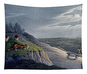 Badger Catching, 1820 Tapestry