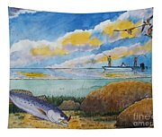 Fishing Baffin Bay Texas  Tapestry