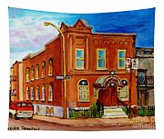 Bagg And Clark Street Synagogue Tapestry