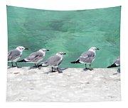 Bahama Birds Tapestry