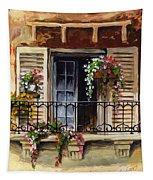 Balcony Of Ferrara Tapestry