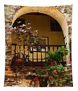 Balcony St Lucia Tapestry