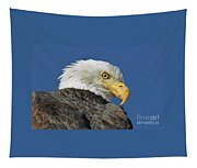 Bald Eagle Closeup Tapestry