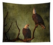 Bald Eagle Serenade Tapestry