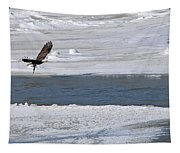 Bald Eagle With Fish 3655 Tapestry