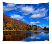 Bald Mountain Pond In Autumn Tapestry