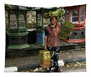 Bali Indonesia Proud People 1 Tapestry