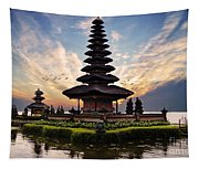 Bali Water Temple 2 Tapestry
